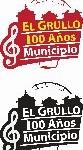 Logotipo 100 años El Grullo Tercer Lugar