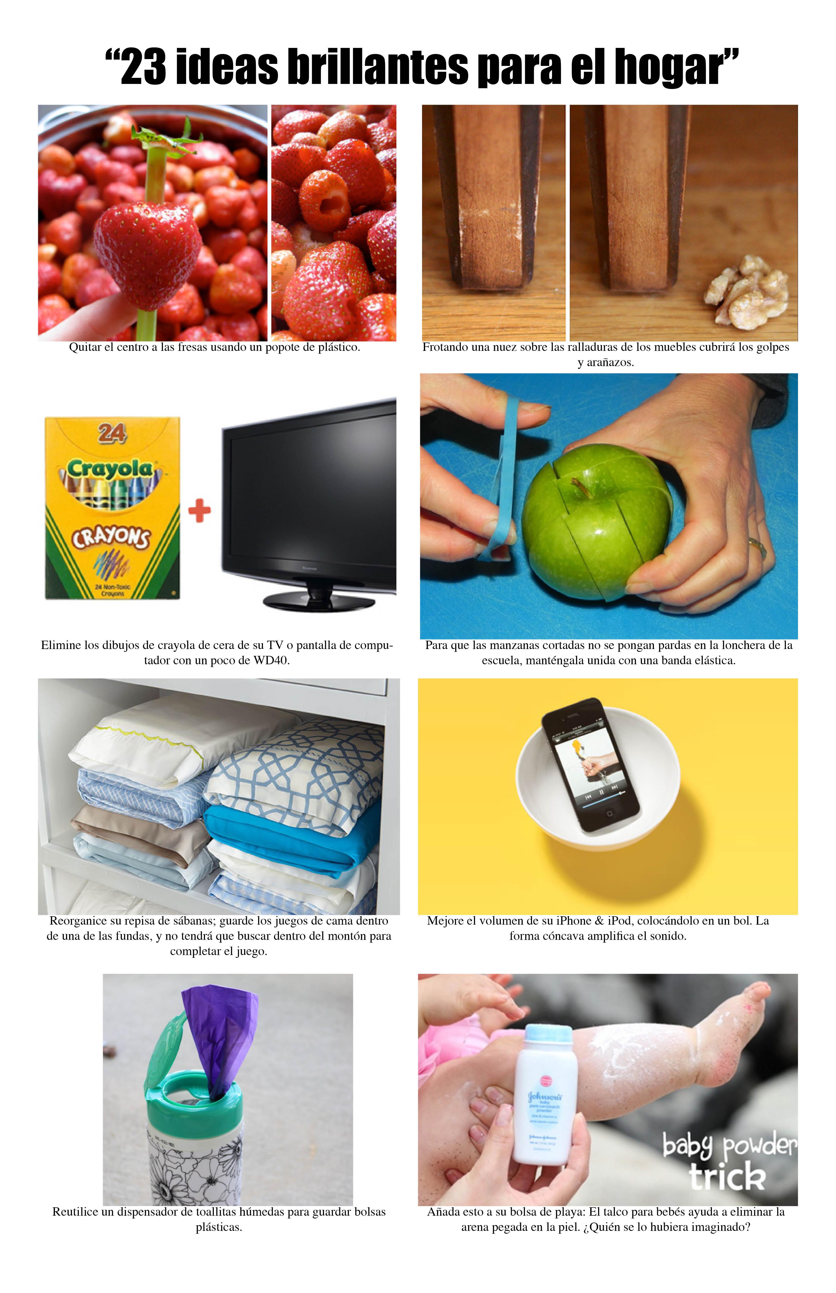 Ideas brillantes para el hogar for Ideas para el hogar