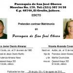Edictos – San José obrero