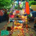 Altares en El Grullo