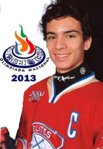 Eric-Gabriel  ¡listo para Olimpiada Nacional 2013'!