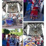 Aspecto gráfico del desfile de los jardines de niños de El Grullo, Jal. 19 Nov. 2014